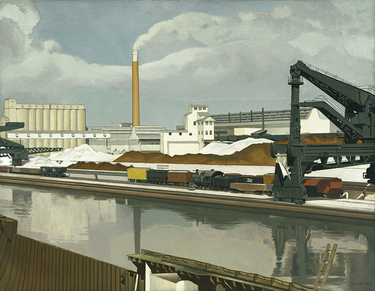 Charles Sheeler, American Landscape 1930. Image © 2016. Digital image, The Museum of Modern Art, New York/Scala, Florence.