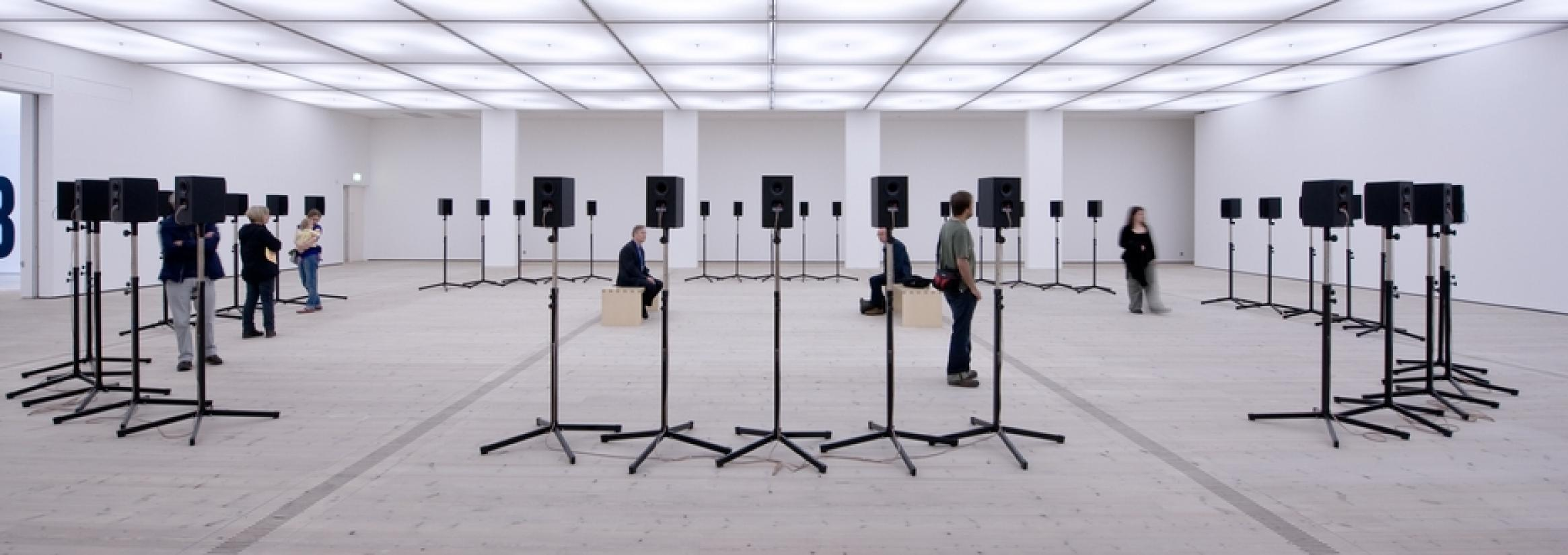 Forty Part Motet at BALTIC. Image BALTIC Centre for Contemporary Art