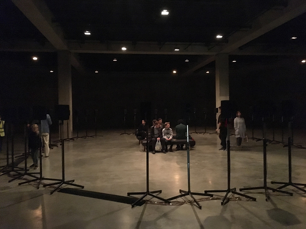 Janet Cardiff, Forty Part Motet, 2001 - Exhibited Tate Modern 2017